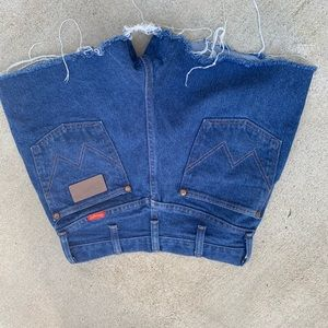 High Waisted Cut Off Wrangler Shorts